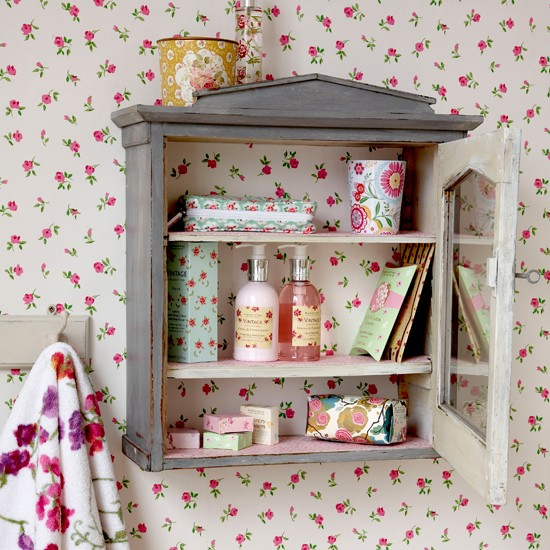 Vintage Shelving Unit