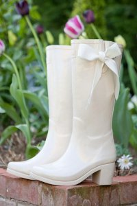 Alternative Wedding Wellington Boots