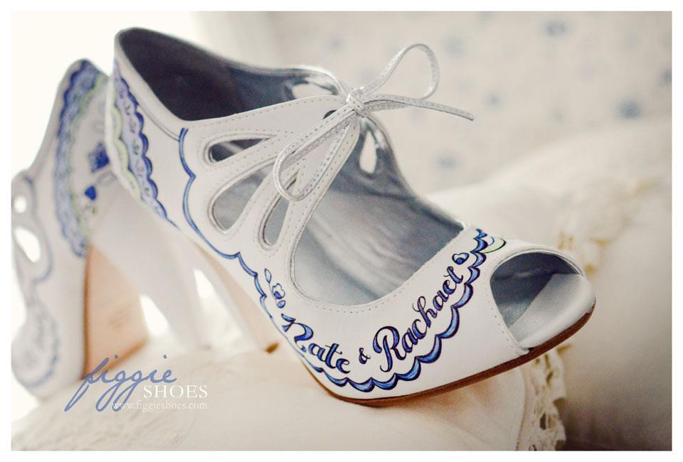 alternative wedding shoes dotty vintage weddings