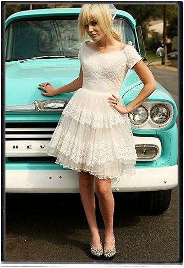 Customised Vintage Wedding Dress