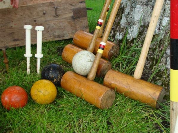 Croquet Hire Set