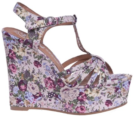 Swansong Floral Wedges