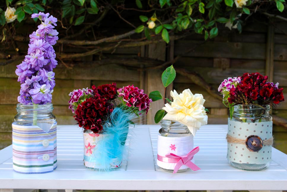 Another Idea, Which Would Be Perfect For A Summertime, Country Style Wedding,  Is The Good Old Jam Jar. This Is Something You Can Collect In The Months Or  ...