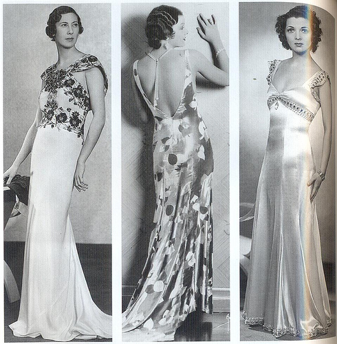 Fashion in the 1930's