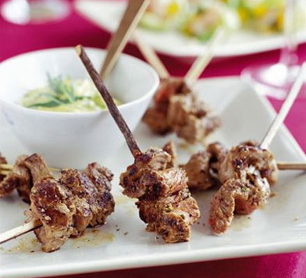 Grilled Steak Mini Canapes
