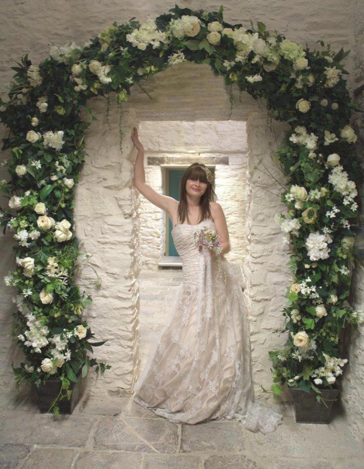 Silk Flowers at the Vintage Wedding Fayre