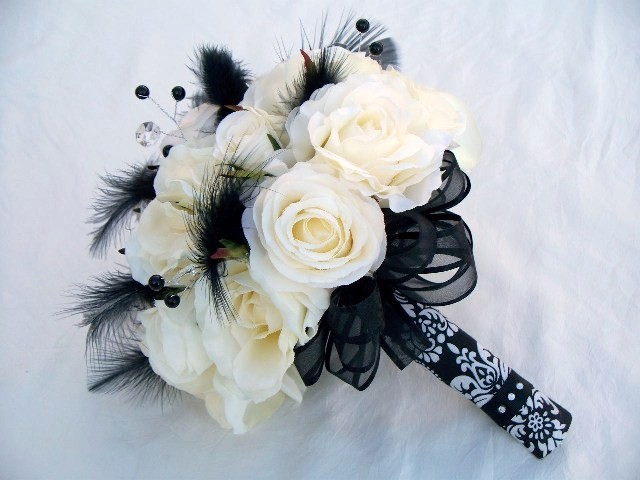 Black & White Wedding Inspiration Vintage
