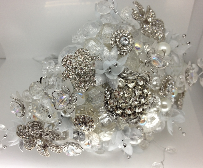 Button Brooch Bouquet from the Button Room