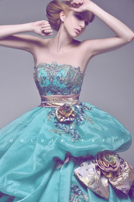 Colours collection turquoise dotty vintage weddings vintage marie antoinette inspired wedding dress junglespirit Gallery