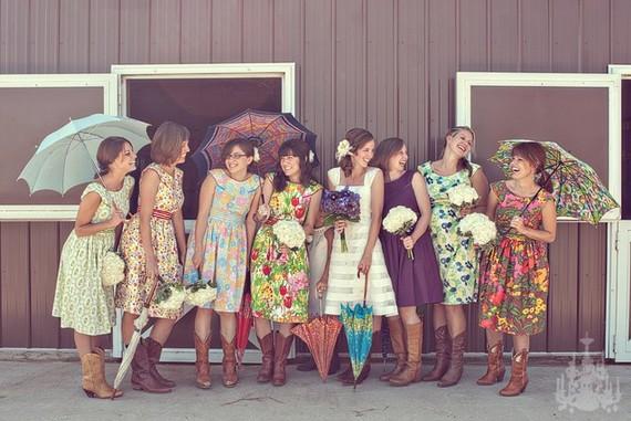 Quirky Bridesmaid Dresses
