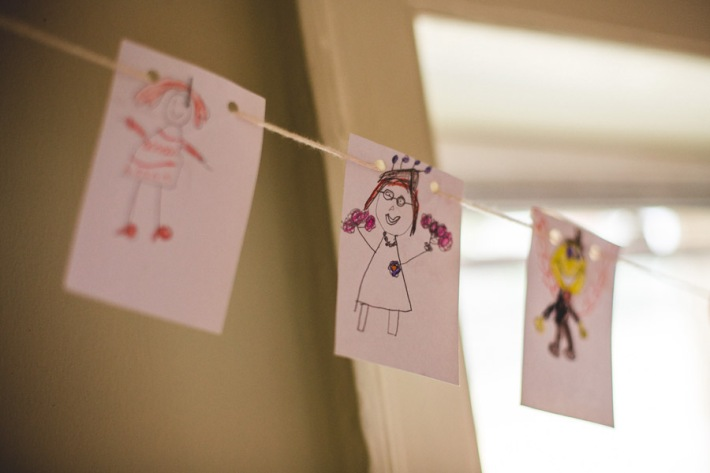 Bunting by Children