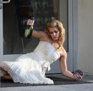 Don't be that drunken bride...