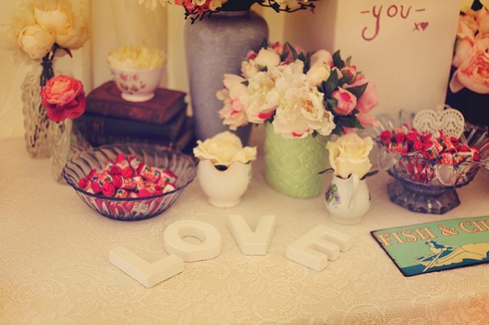 Vintage Venue Decor Flowers