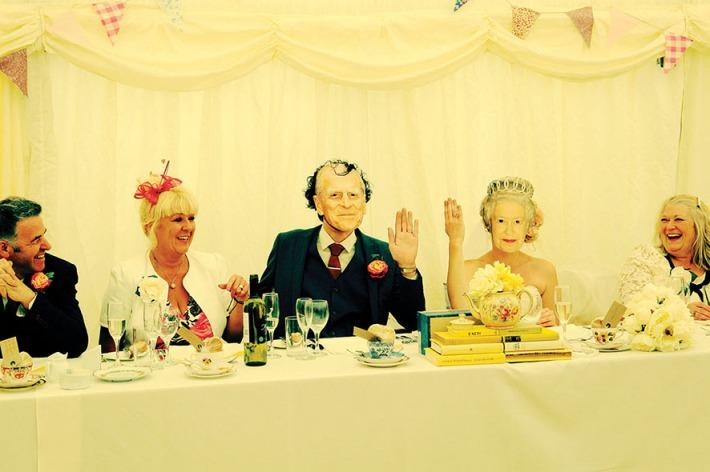 Jubilee Inspired Vintage Wedding