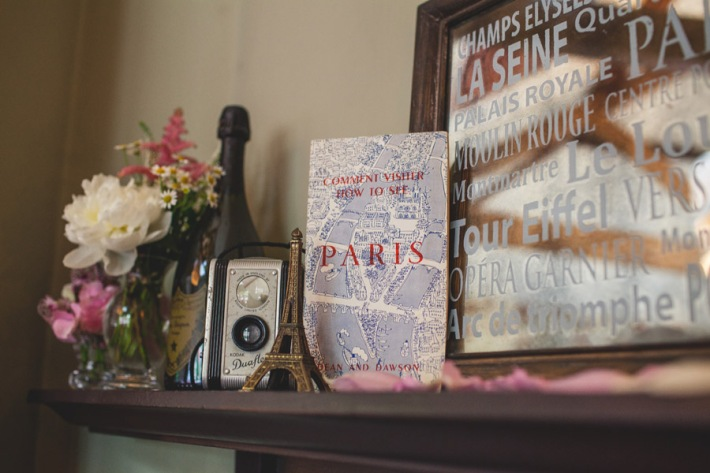 French Vintage Wedding Theme