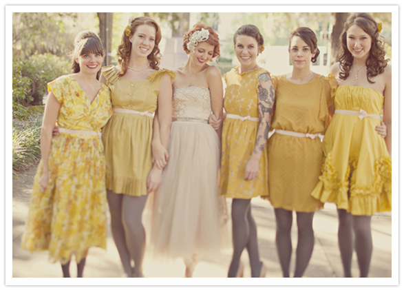 Colours Collection – Yellow | {Dotty Vintage Weddings} Vintage ...