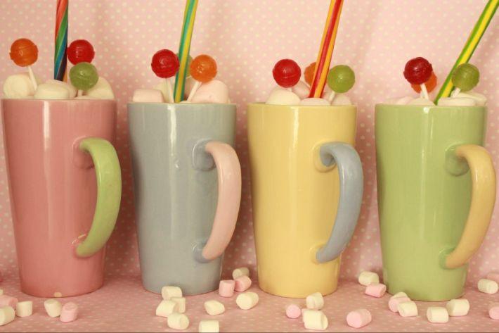 Mug Wedding Favours with Sweeties