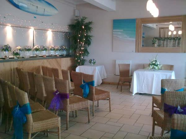 Ceremony Room at the Blue Bar