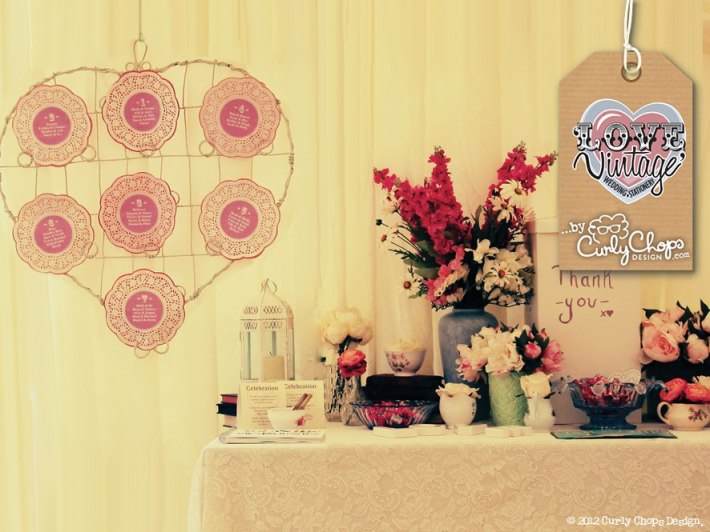 Table Plan by Love Vintage