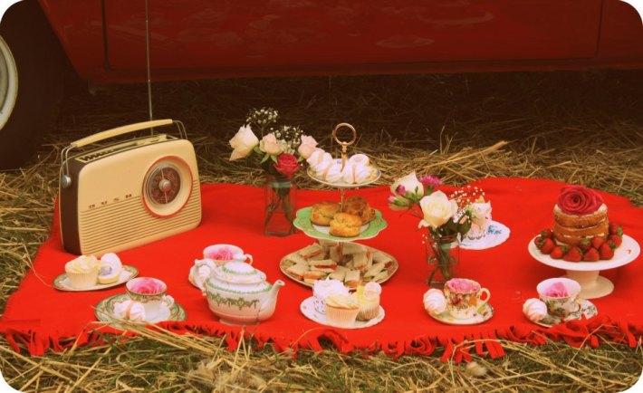 Vintage Afternoon Tea - Wherever you like!