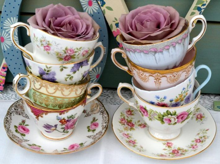 Vintage Crockery from Devon Vintage China