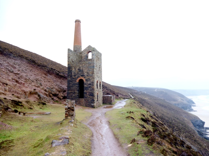 Tin Mine at Chapel Porth