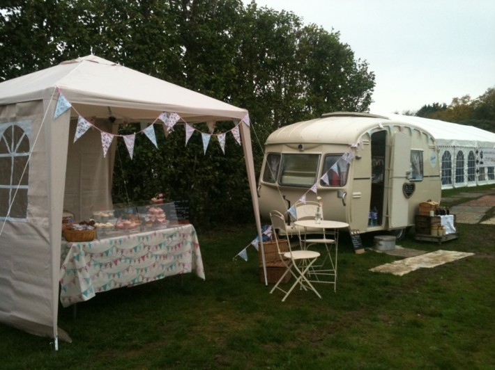 Bessie the Caravan - You might spot her at vintage events