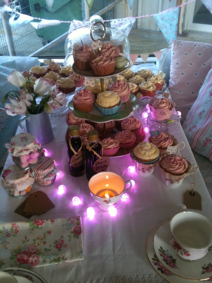 Beautiful Vintage Afternoon Tea