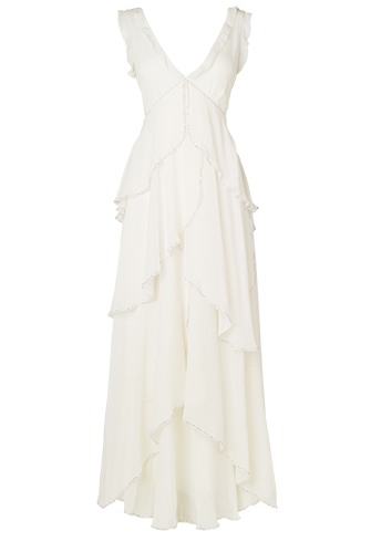 Astoria Frill Wedding Dress - £197.50 in the sale!