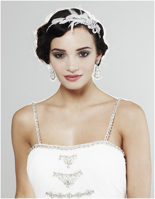 1920's Inspired Bridal Tiara
