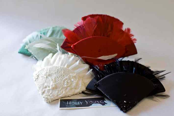 Designer Headwear by Holly Young