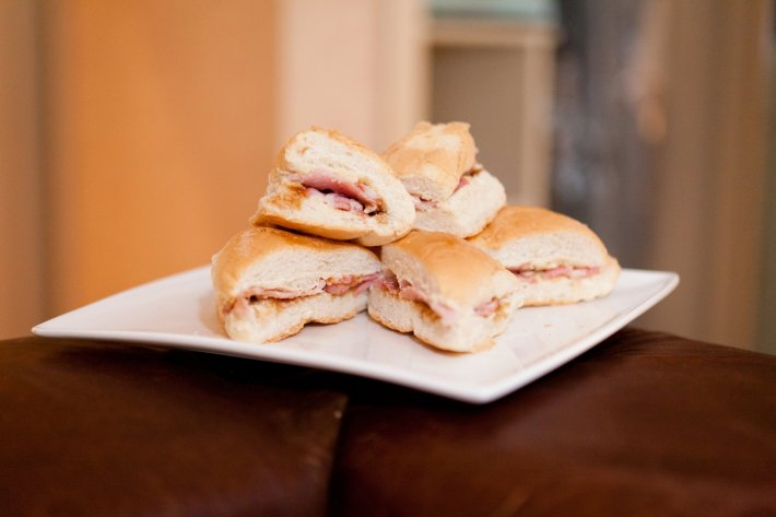 Bacon Rolls - A Bridal Necessity!