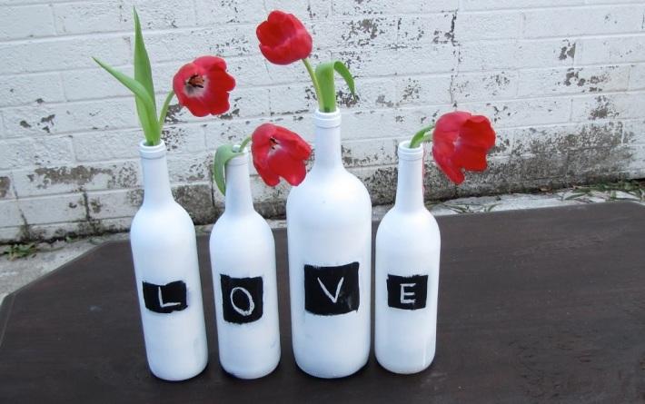 Tulip DIY Wedding Centrepieces