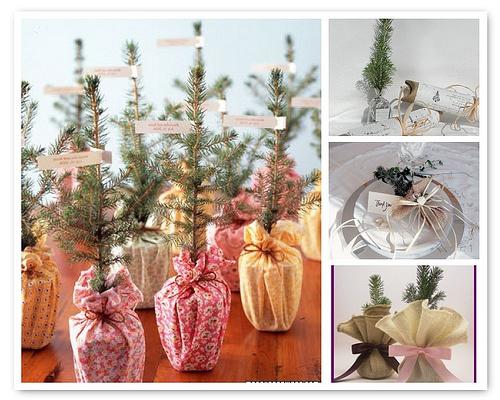 festive wedding favours