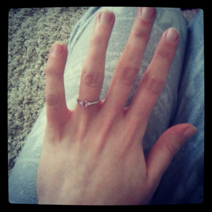 My Beautiful Engagement Ring