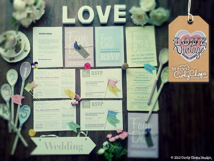 Love Vintage Wedding Stationery