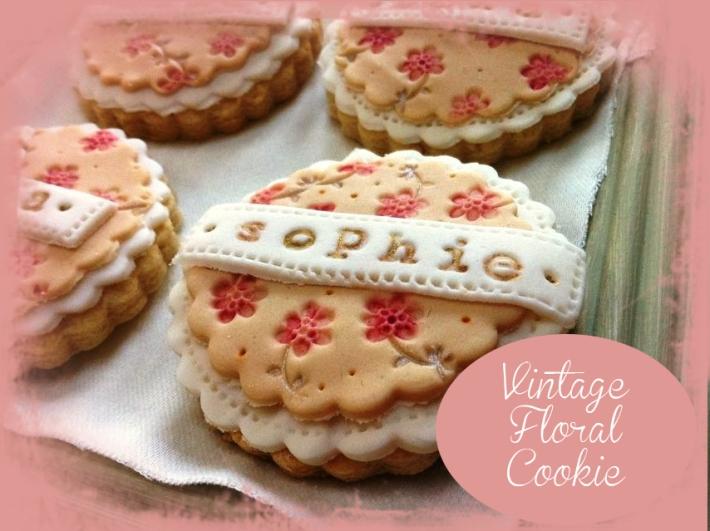 Vintage Floral Cookie