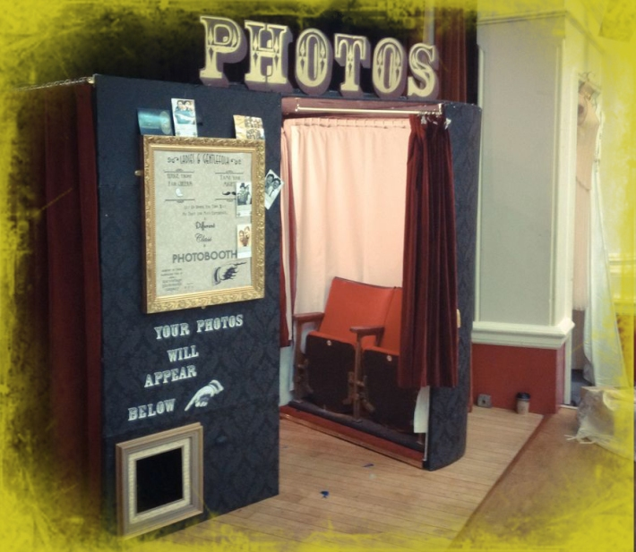 Vintage Photo Booth Featured Supplier - Th...