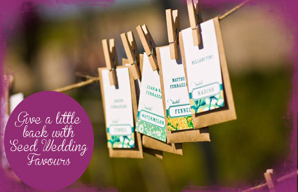 Wedding Seed Favours
