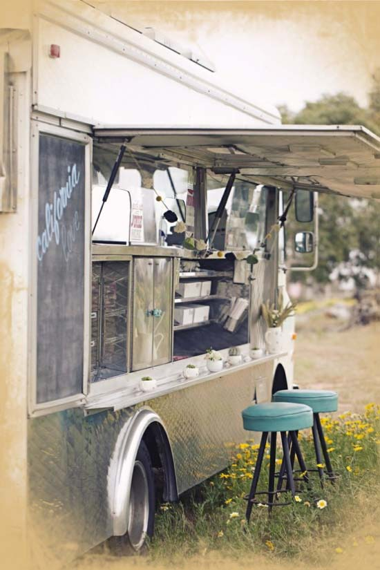 Wedding Food Truck Campervan