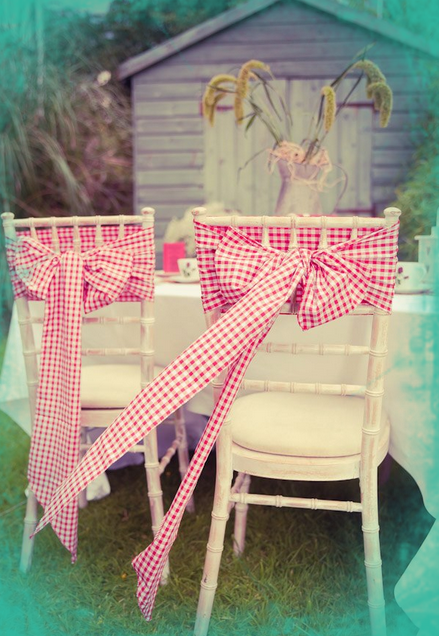 Rustic Vintage Wedding Sashes